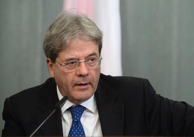 وزير الخارجية الإيطالي باولو جينتيلوني