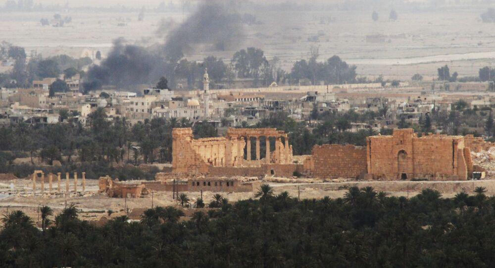 الجيش السوري يحرر تدمر