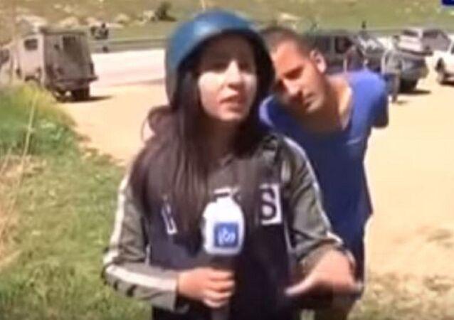 المراسلة الفلسطينية نبال فرسخ