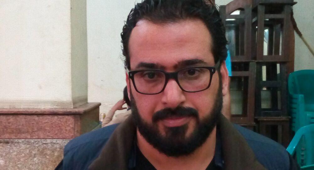 الصحفي العراق منتظر الزيدي
