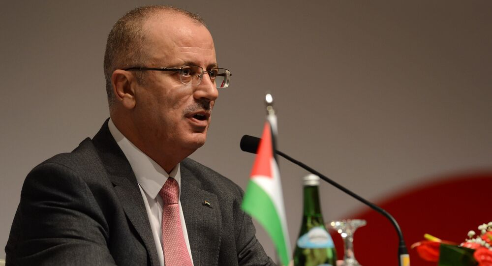 رئيس الوزراء الفلسطيني رامي الحمد الله