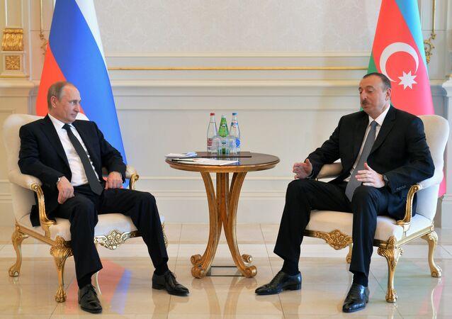 بوتين وعلييف