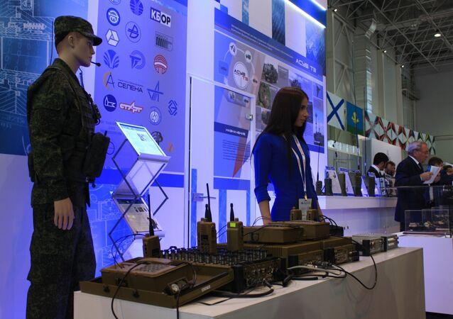 أنظمة الاتصالات العسكرية الروسية