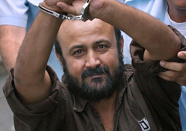 الأسير الفلسطيني في السجون الاسرائيلية مروان البرغوثي