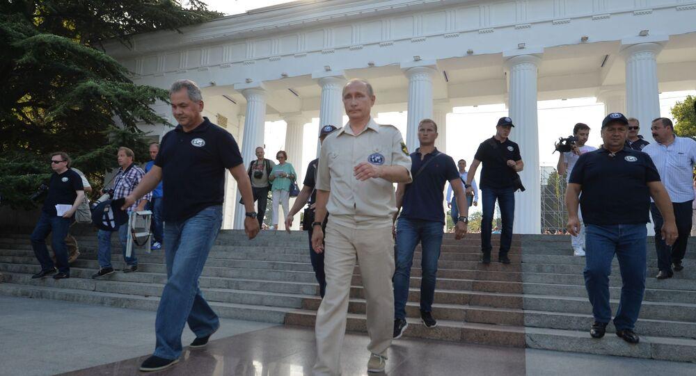 الرئيس بوتين يزور القرم