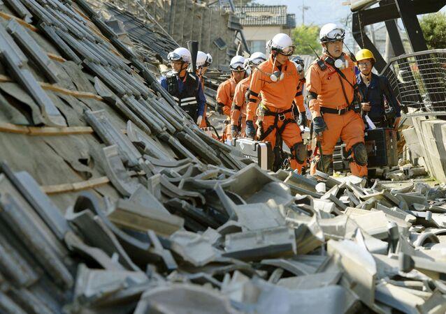 زلزال في اليابان