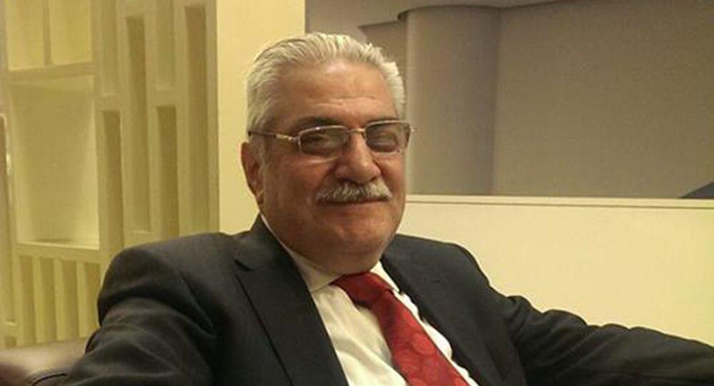 رئيس معارضة الداخل السورية إليان مسعد