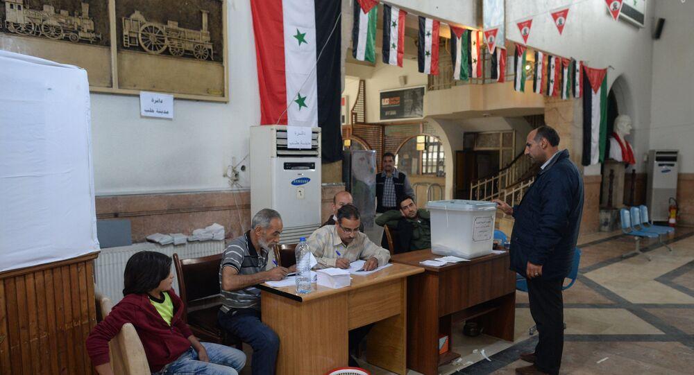 الانتخابات البرلمانية في سورية