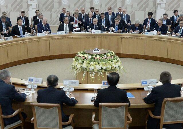 اجتماع رؤساء دول منظمة شنغهاي