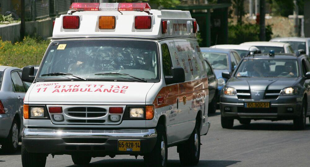 سيارة إسعاف إسرائيلية