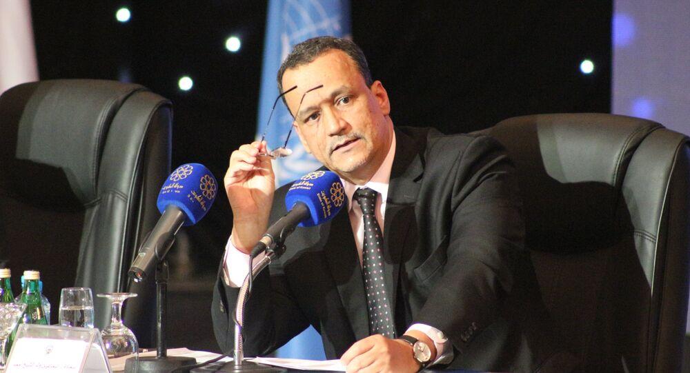 المبعوث الأممي إلى اليمن، إسماعيل ولد الشيخ