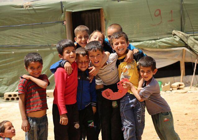 اللاجئون السوريون في لبنان
