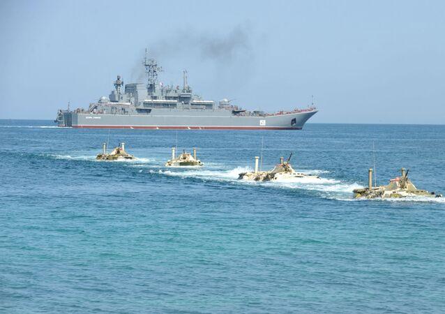 سفينة إنزال روسية