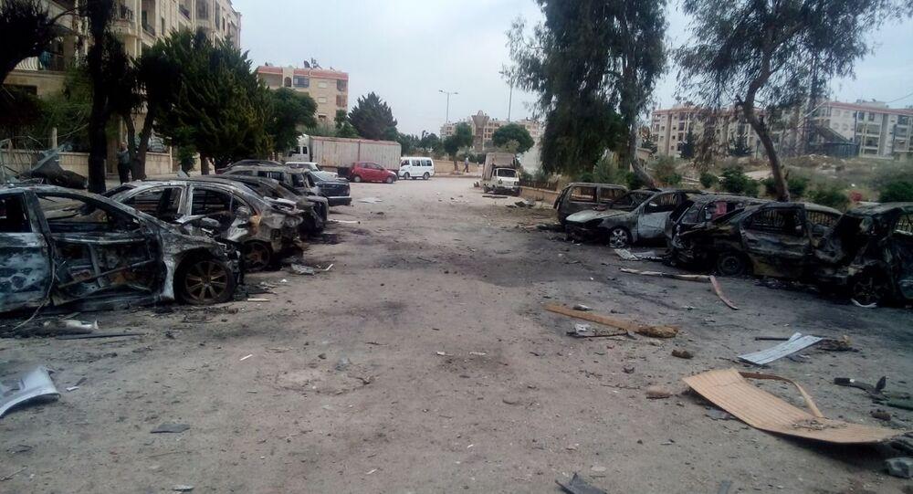 مدينة حلب السورية