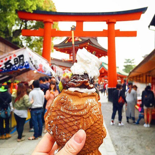 Fish-Shaped Taiyaki, Japan