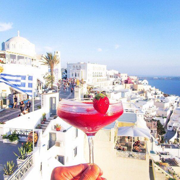 Strawberry Daiquiri, Greece