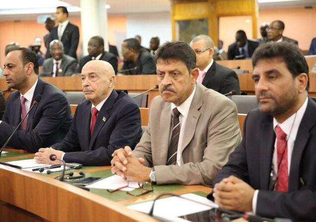 البرلمان الليبي
