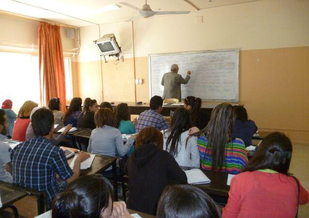 طلبة اللغة الروسية في دمشق