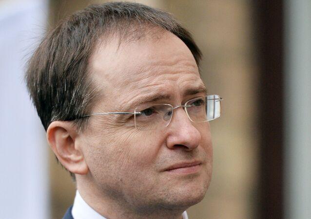 وزير الثقافة الروسي فلاديمير ميدينسكي