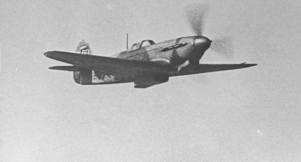 المقاتلة ياك-3 خلال الطيران
