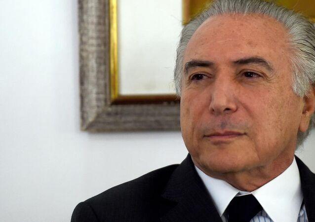 نائب رئيس البرازيل ميشيل تامر اللبناني الأصل
