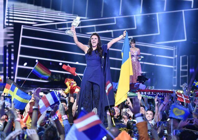 المغنية الأوكرانية جمالا في مسابقة يوروفيجن