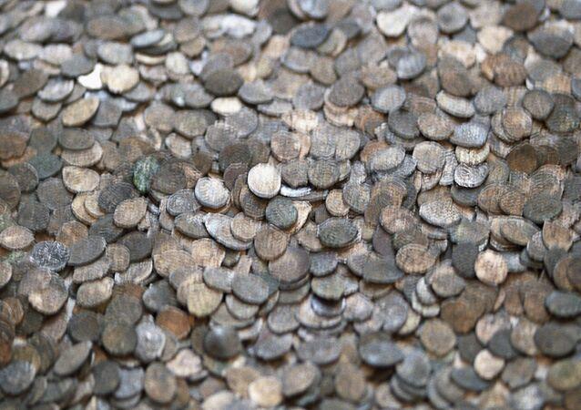 قطع نقدية أثرية