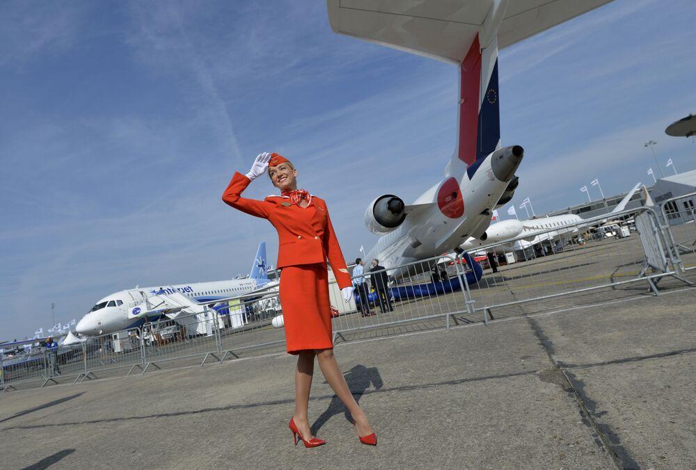 مضيفات شركة الطيران الروسية Aeroflot