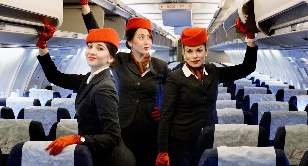 مضيفات الطيران الروسي فيم آفيا الروسية
