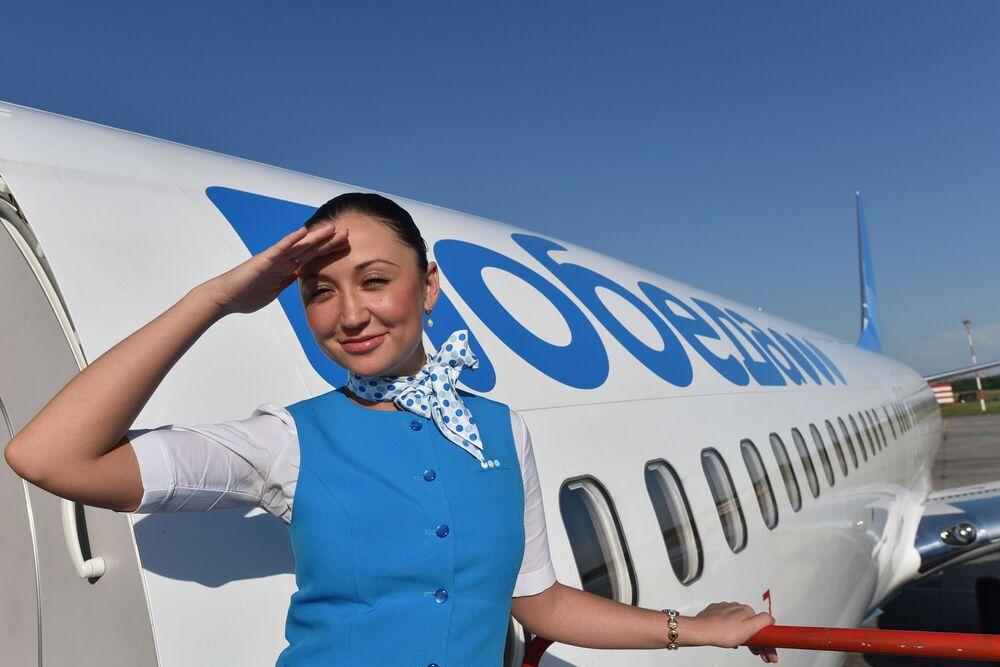 مضيفات الطيران الروسي بوبيدا في راستوف-نا-دانو