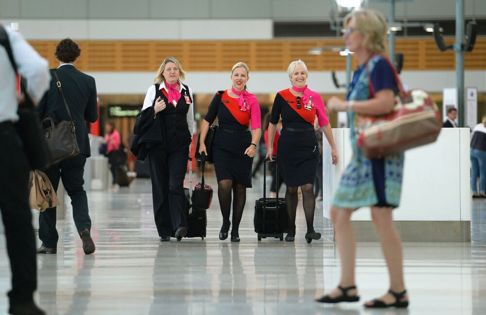 مضيفات الطيران الأسترالي Qantas