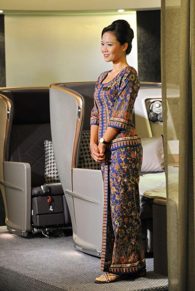 مضيفات الطيران السينغافوري Singapore Airlines