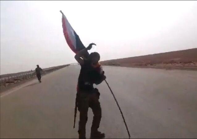 القوات العراقية تطهر  الحدود مع الأردن من داعش