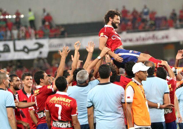 حسام غالي لاعب النادي الأهلي