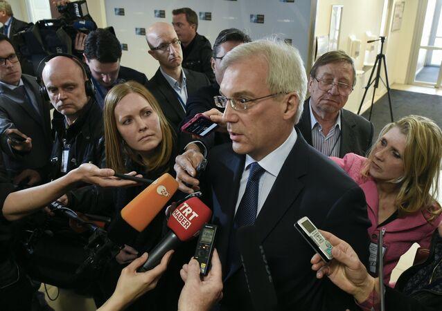 ألكسندر غروشكو، ممثل روسيا الدائم لدى حلف شمال الأطلسي