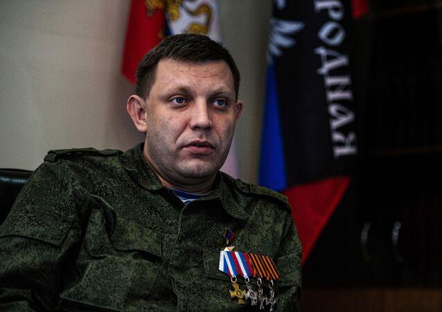 ألكسندر زاخارتشينكو، رئيس جمهورية دونيتسك الشعبية