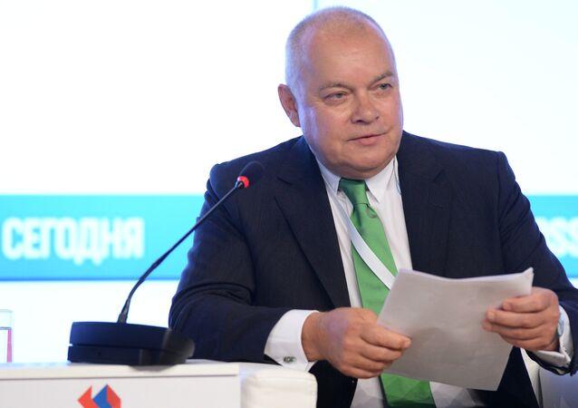 دميتري كيسيليوف مدير عام وكالة روسيا سيغودنيا