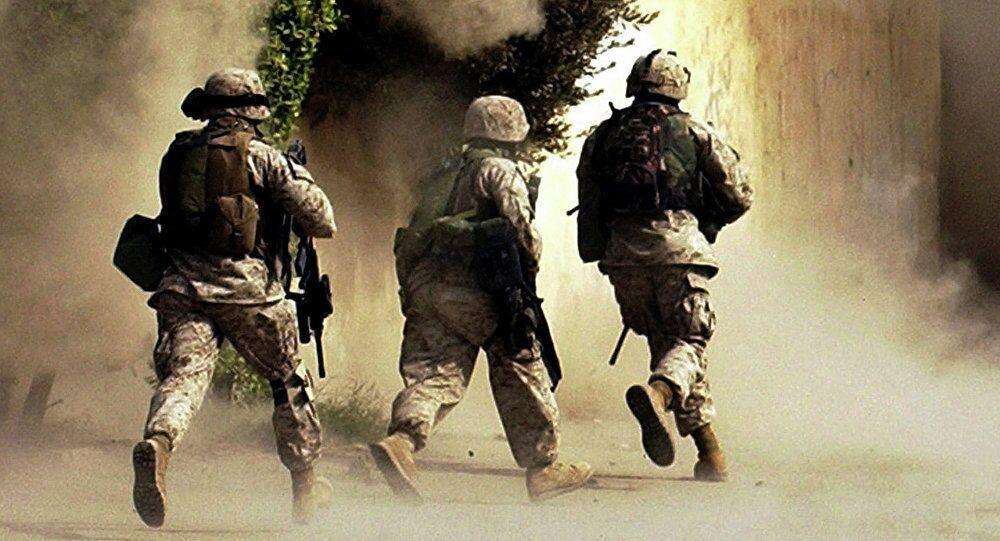 القوات الأمريكية