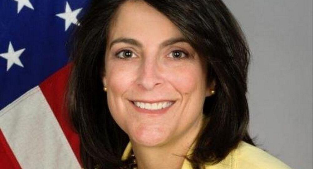 السفيرة الأمريكية لدى الدوحة، دانا شيل سميث