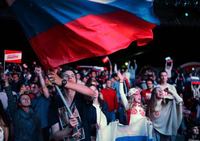 مشجعو منتخب روسيا