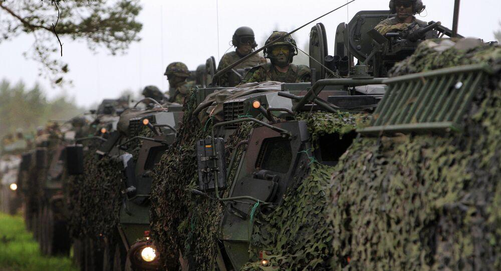 مناورات عسكرية مشتركة بين الولايات المتحدة واستونيا ولاتفيا وليتوانيا وبريطانيا