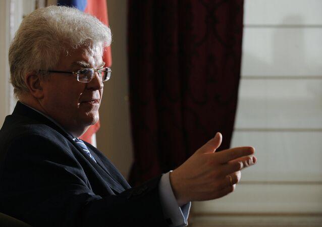 مندوب روسيا الدائم لدى الاتحاد الاوروبي، فلاديمير تشيجوف،