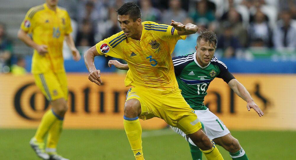 مباراة أوكرانيا وإيرلندا الشمالية