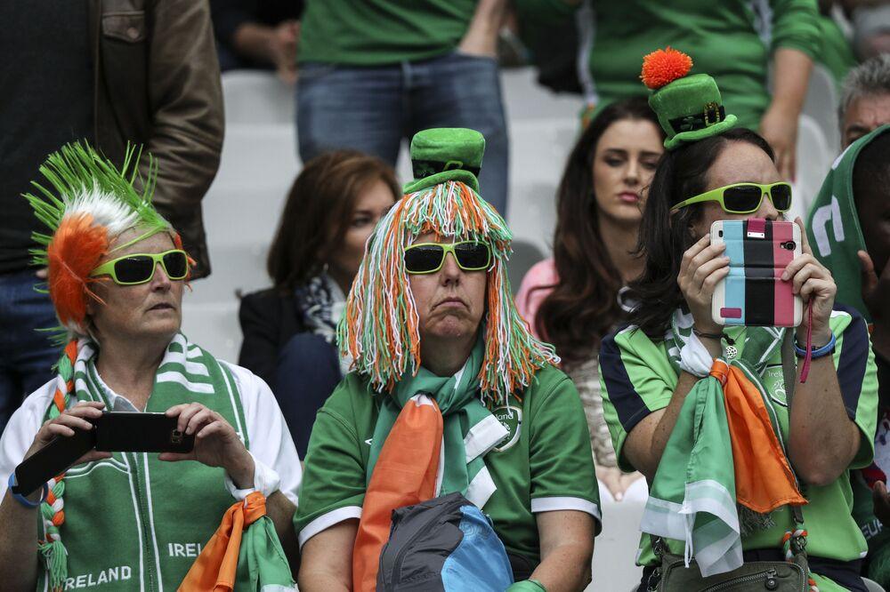 مشجعي إيرلندا في كأس أوروبا لكرة القدم يورو 2016