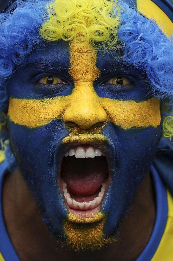 مشجعي السويد في كأس أوروبا لكرة القدم يورو 2016