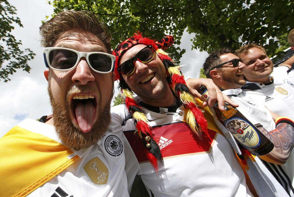 مشجعي ألمانيا في كأس أوروبا لكرة القدم يورو 2016