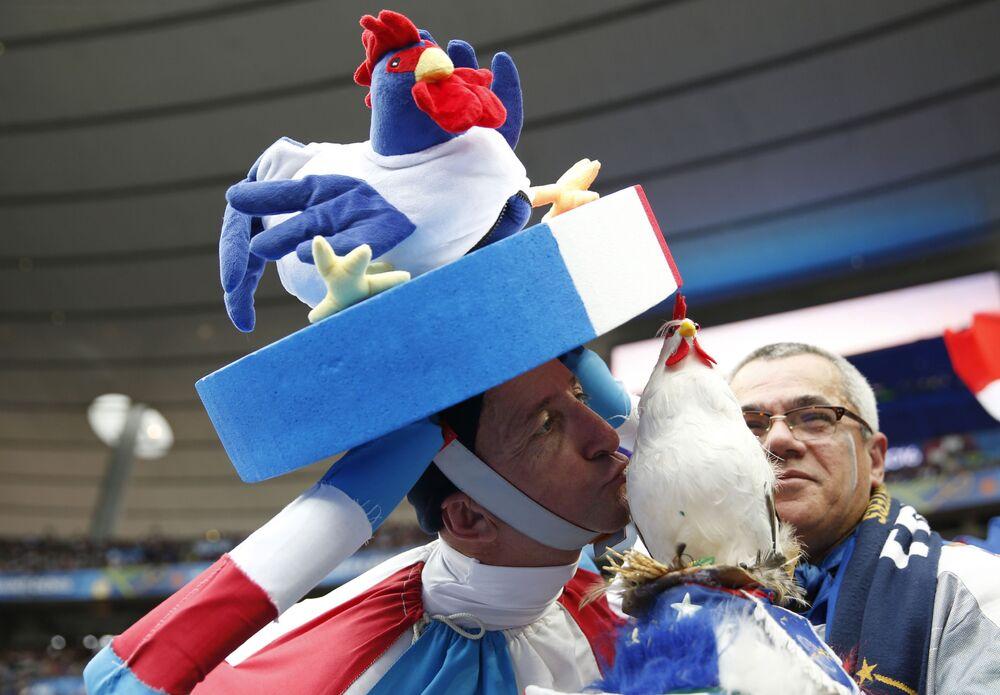 مشجعي فرنسا في كأس أوروبا لكرة القدم يورو 2016