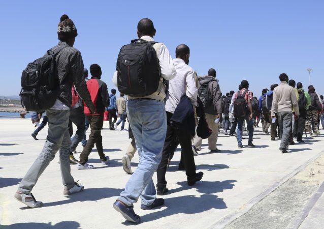مهاجرون من إريتريا