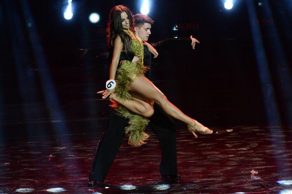 احدى المشاركات في مسابقة ملكة جمال موسكو 2016