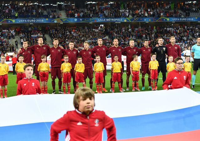 المنتخب الروسي لكرة القدم